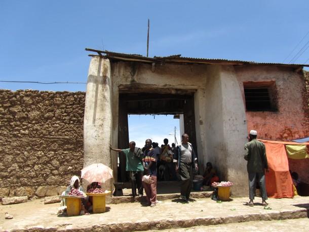 Gate in Harar